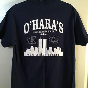 O'Hara's Pub NYC navy blue t-shirt